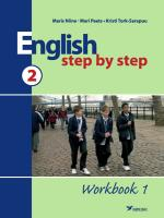 English Step by Step 2. Workbook 1